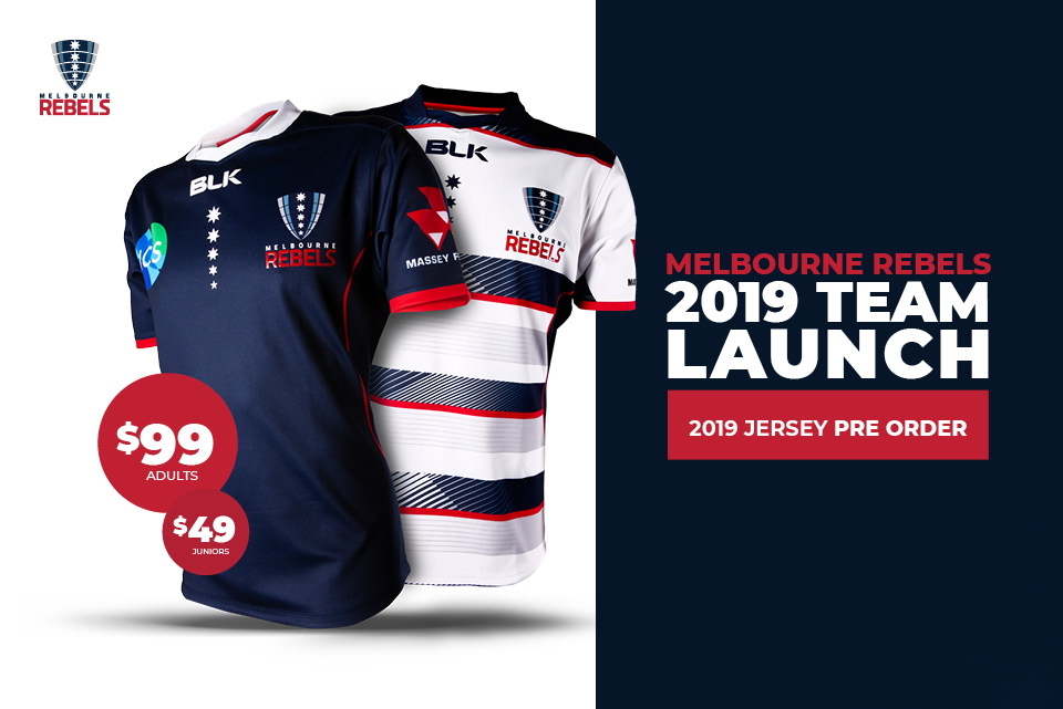 REBELS FANS HAVE EVEN MORE REASON TO GET THEIR JERSEY FOR 2019 SEASON